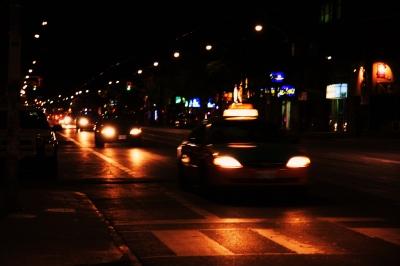 Night Traffic by Dynamite Imagery FreeDigitalPhotos Net
