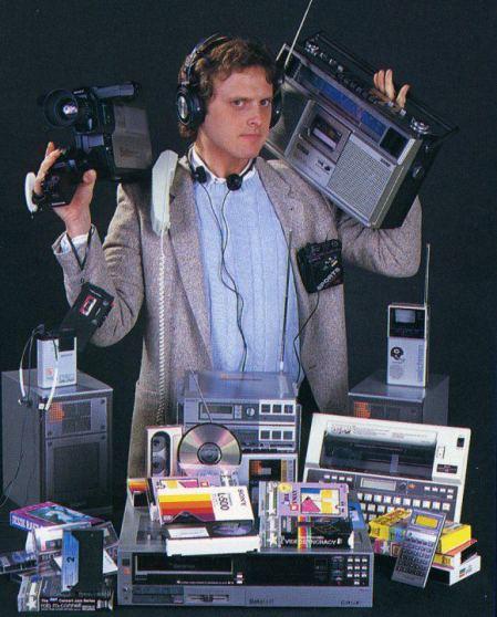 Allt du ser på bilden ryms idag i din smartphone. 30 år av teknologi