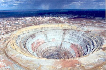 världens största diamantgruva