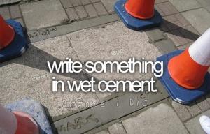 writecement