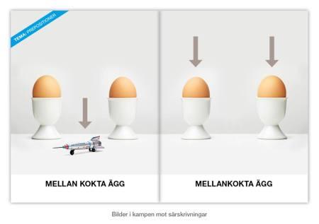 1.mellankokta ägg