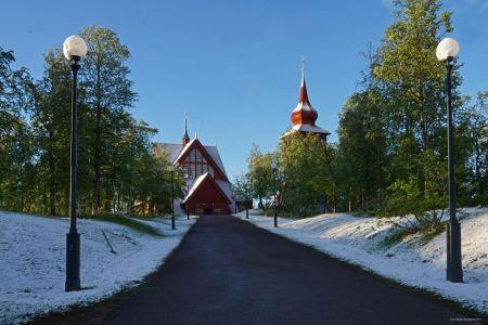Kiruna Midsommarafton 20 Juni 2014 kl 03.00 i midnattssolen Foto by Markku Nurmilampi
