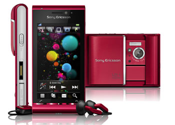 SONY ERICSSON Satio Idou 12MPix GPS RED SMARTPHONE