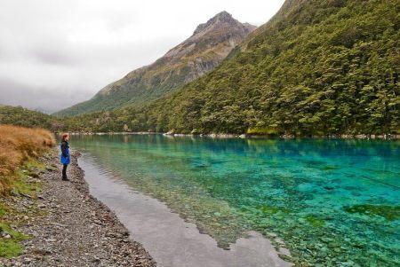 Blue Lake i Nya Zealand
