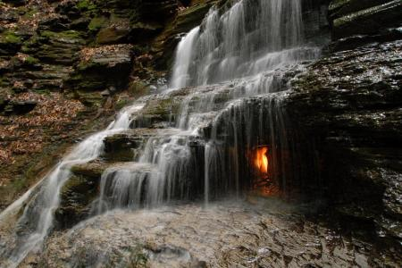 Eternal Flame Falls.