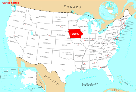 where_is_iowa_located