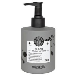 LYKO - MARIA NILA PALETT COLOUR REFRESH 2.00 BLACK svart färgbomb hårinpackning - 1003-143-0300 - Pris 239kr
